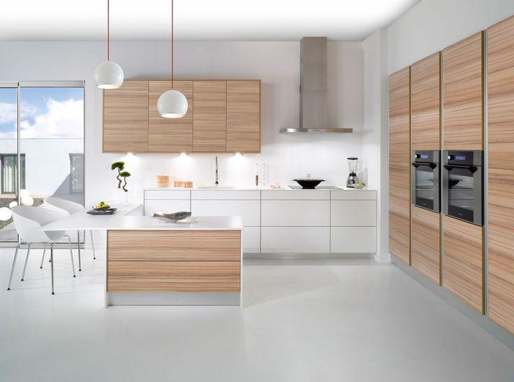 cuisine zen meubles de cuisine sol crdence plan de travail cuisine blanche