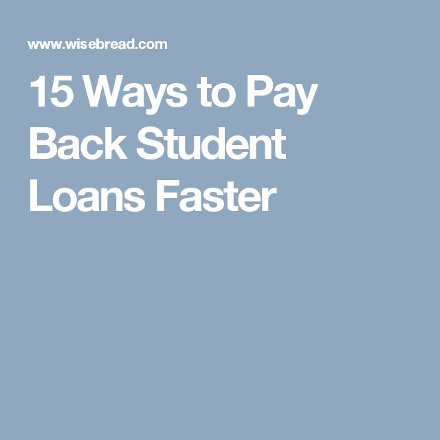 15 Ways to Pay Back Student Loans Faster http://www.4myprosperity.com/the-2-week-diet-program/