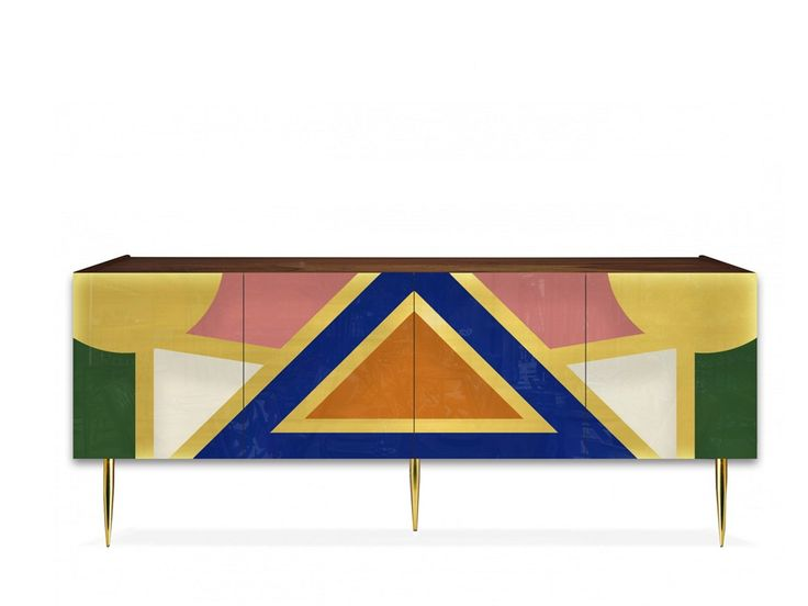 Download the catalogue and request prices of Yucatán By moanne, lacquered solid wood sideboard