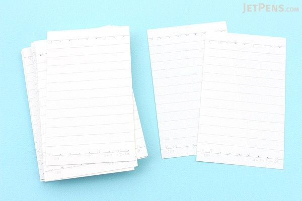 Correct Joho Index Cards 9 1 X 5 5 Cm 6 Mm Rule Portrait