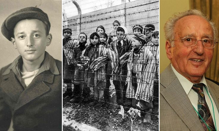 Winter in the camps: Holocaust survivor who almost died at Auschwitz and worked in concentration camps aged just 13 recalls the bitterest mo...