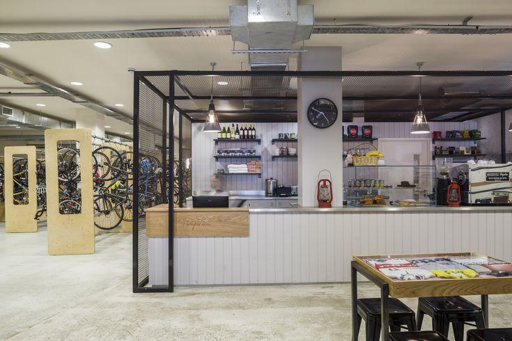 Rapha – London Headquarters designed by Jump Studios