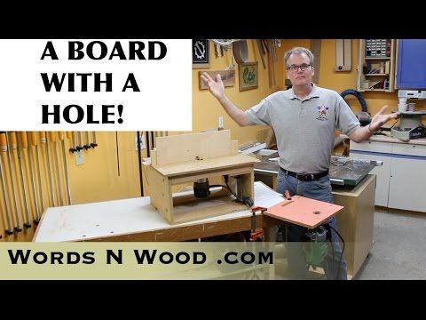 Best 25 homemade router table ideas on pinterest diy projects a board with a hole my cheap simple homemade router tables wnw greentooth Gallery