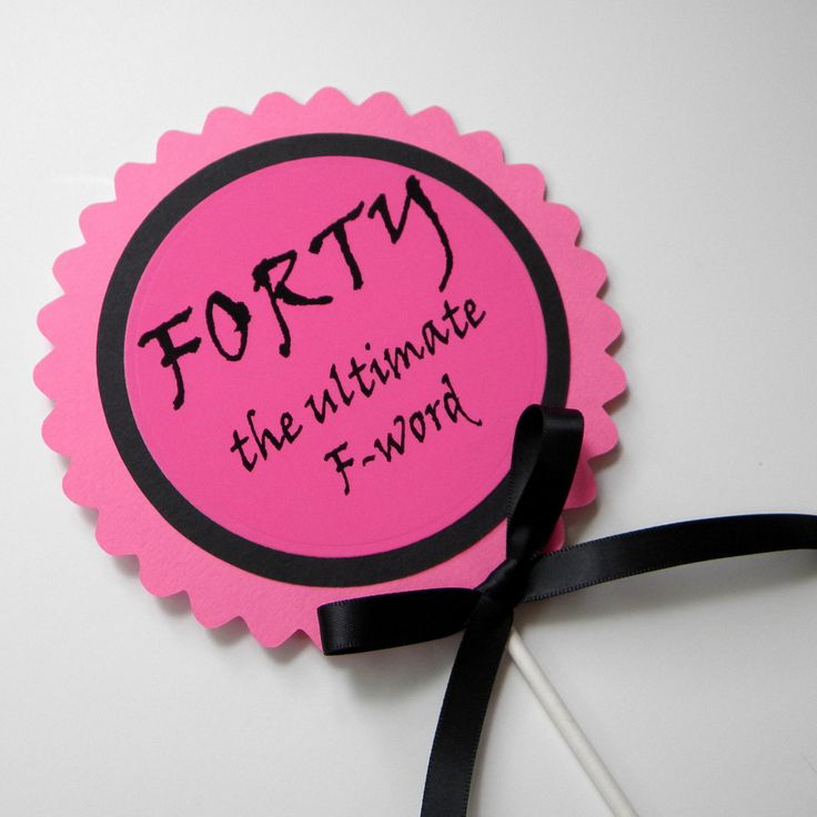 36 best forty images on pinterest 40th birthday parties for 40th birthday decoration
