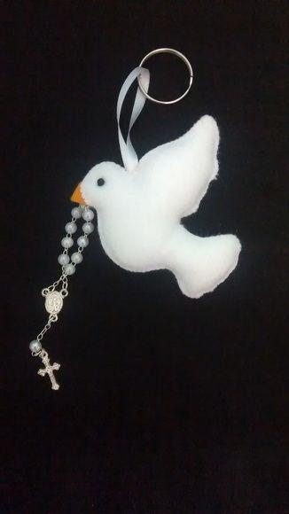 Chaveiro divino espírito santo