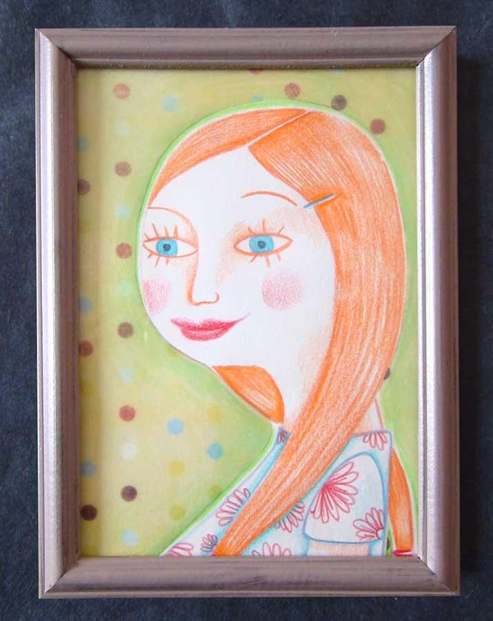 "Portrait ""Philo"" - Olivia Paroldi"