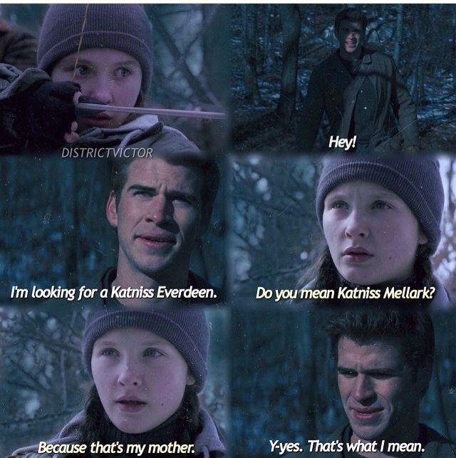 Es Katniss Melark, recorda que se casó con el otro y te dejó en la friendzone