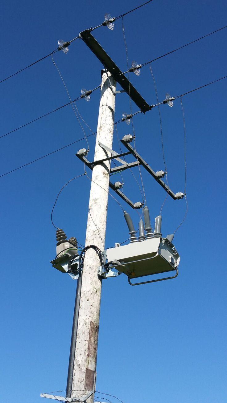 11kV NOJA Power Sectionaliser - Ballycastle N. Ireland