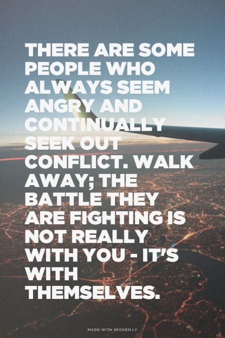There are some people who always seem angry and ...