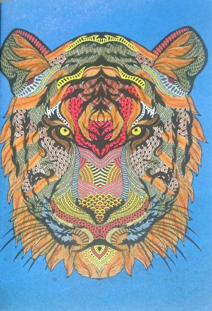 Colored with koh-i-noor mondeluz