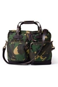 Filson | TimberCamo | 72 Hour Briefcase Nylon | Nag Classic | Get it at www.nagpeople.com