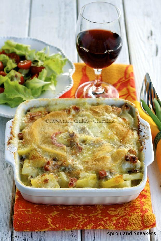 Tartiflette: French Potato, Onion & Cheese Gratin