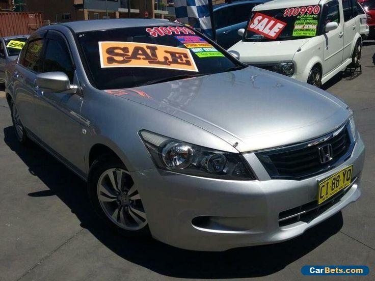 2008 Honda Accord 50 VTi Silver Automatic 5sp A Sedan #honda #accord #forsale #australia