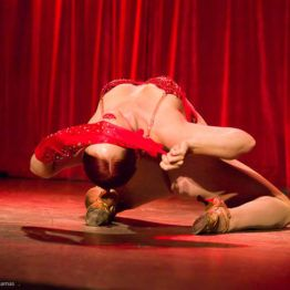 Pearls Daily performing at the 2017 New York Burlesque Festival Thursday night Teaser party at the Bell House.