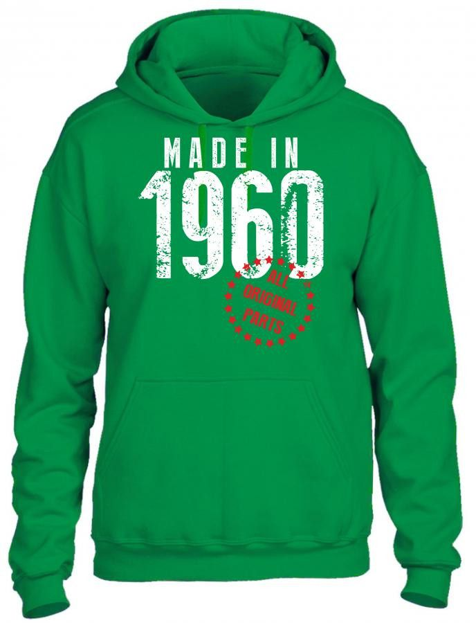 made in 1960 all original parts 1 HOODIE
