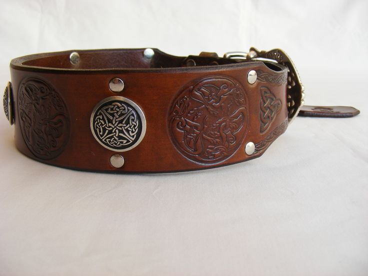 Irish Dog Collars Celtic Design