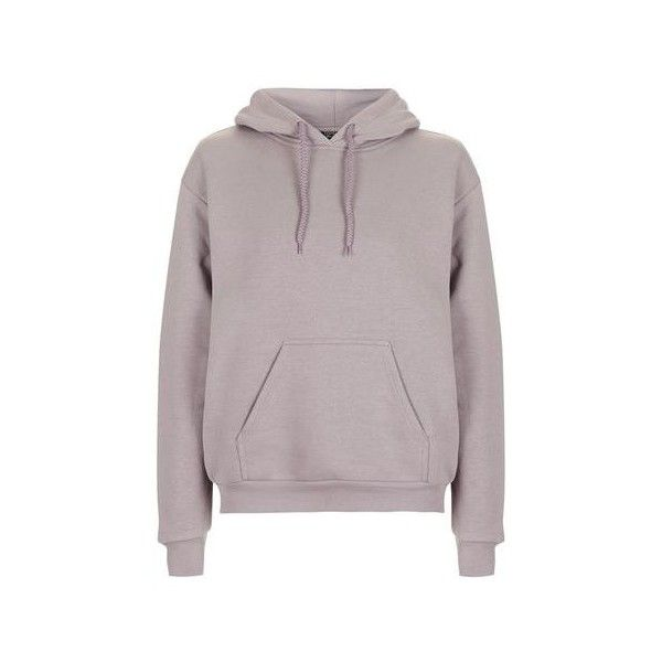 TopShop Petite Oversized Hoody ($50) ❤ liked on Polyvore featuring tops, hoodies, lilac, topshop tops, oversized hoodies, purple hooded sweatshirt, purple top and hooded pullover