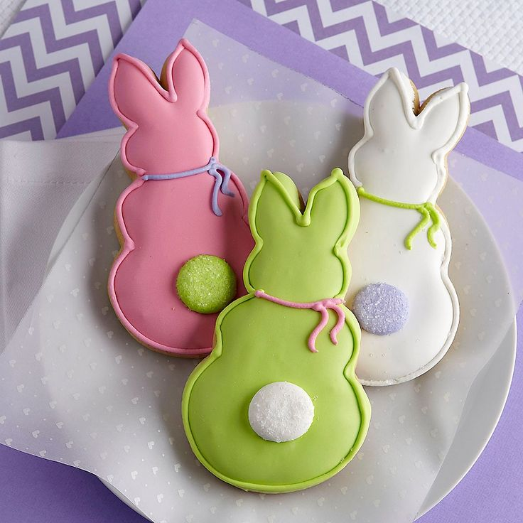 Easter Bunny Cookies: Cookies Ideas, Sugar Cookies, Cookies Animal, Easter Bunny, Happy Easter, Easter Cookies, Interesting Ideas, Easter Bunnies Cookies, Cookies Favors