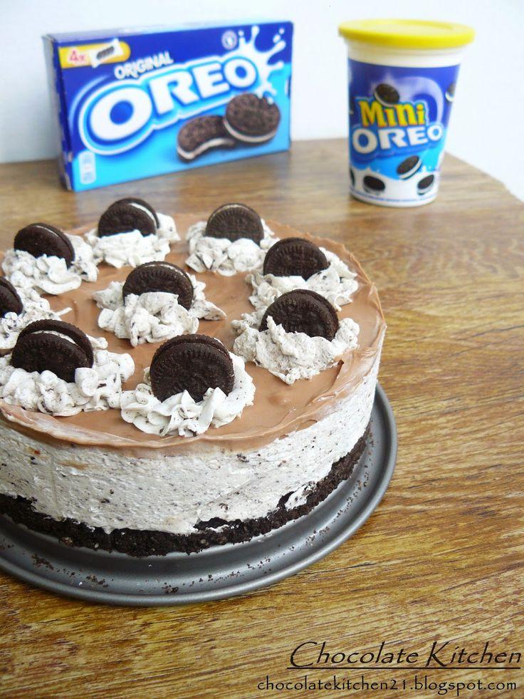 Chocolate Kitchen: Шоколадов Орео чийзкейк