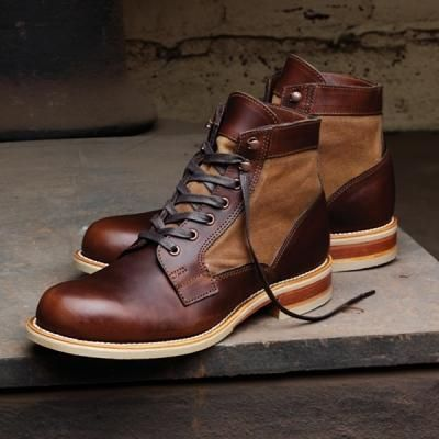 Wolverine Whitepine 1000 Mile Boot Men's Casual Shoes (8 D in Brown)