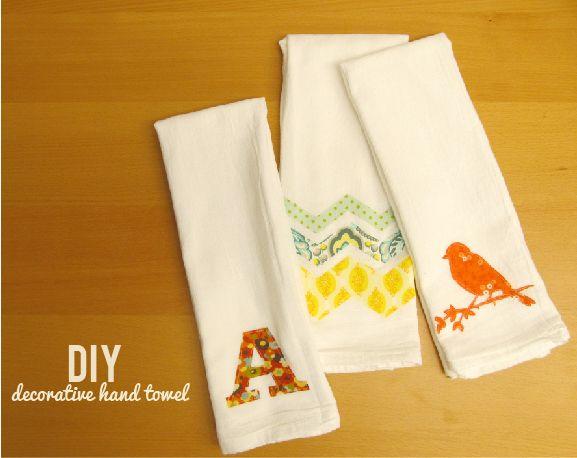DIY Decorative Hand Towel :: Video Tutorial by Jeana #SilhouetteCameo