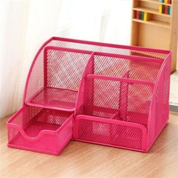 Cheap holder, Buy Quality holders components directly from China holder bag Suppliers: Colorful Super Large! Cute Metal Stationery Holders Pen/Pencil Holder for Pen Stand Office Desktop Organizer Container