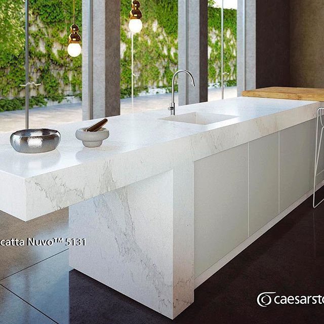 Calacatta Quartz Kitchens: 80 Best Caesarstone Calacatta Nuvo Images On Pinterest