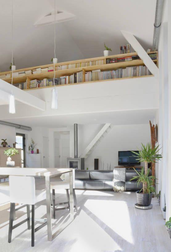 Scandinavian style living room by Bertin Bichet