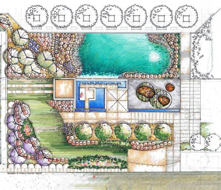 Landscape Plan by Romella Edgmon - BeLoose Graphic Workshop
