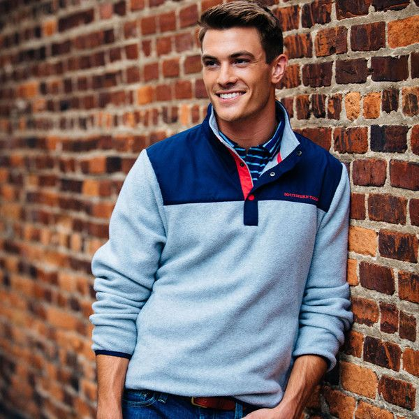 This slick new Navigational Fleece from Southern Tide will keep you warm wherever you may be located.