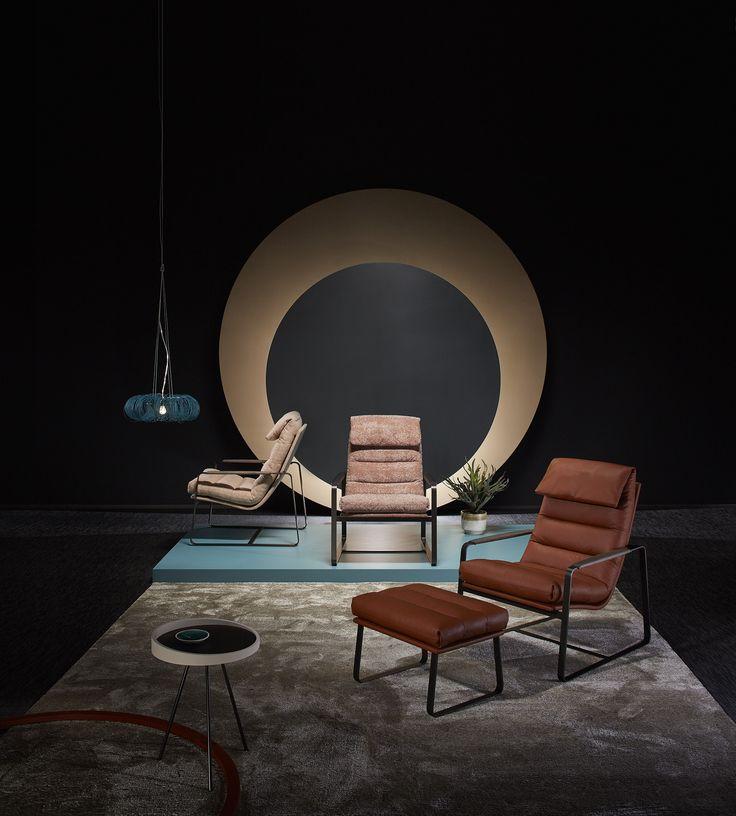 LEOLUX / fauteuils INDRA fotograaf: rene van der hulst concept & styling: isabel croon & jose martens Lamp Donut / www.forloversofinterior.com