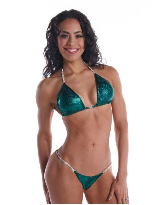 Emerald Icon Competition Bikini at www.showstopperbikini.com from $130