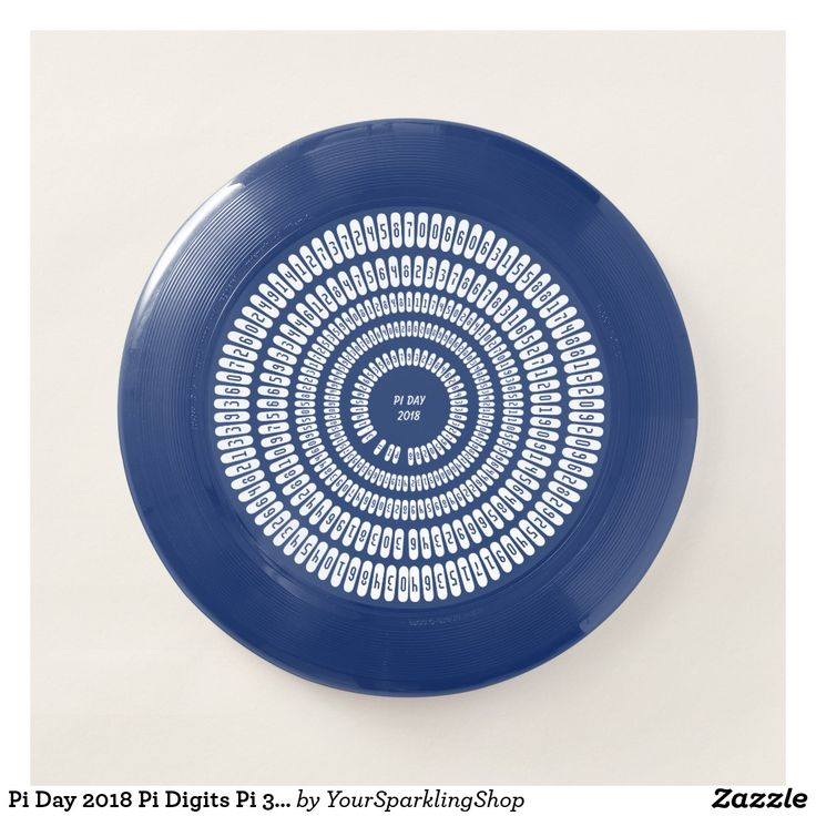 Pi Day 2018 Pi Digits Pi 3.1415 Numbers Typography #Frisbee