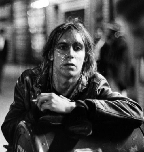 Iggy Pop, waiting underground.  #chamber of crafters #grooming #barbershop #barber #menscare #skin care #beauty #keep prime #crafter #inspiration #new products #japanese #made in Japan #vintage #retro #pin up #men fashion  http://chamberofcrafters.com/