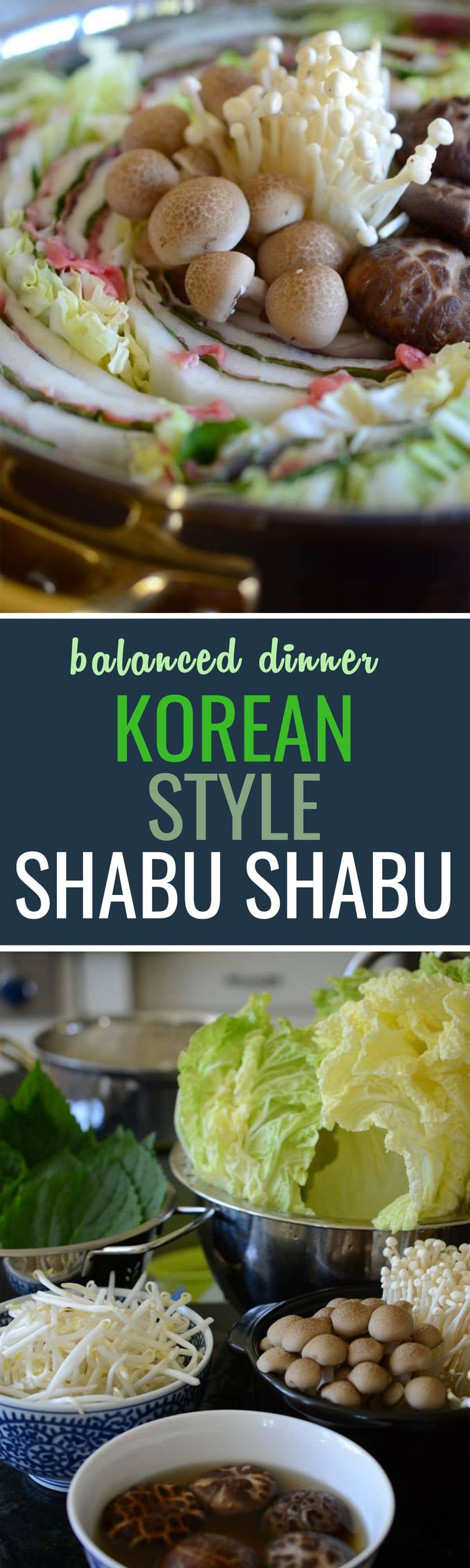 Shabu shabu with a Korean twist, a popular dish for gathering with family and friends!
