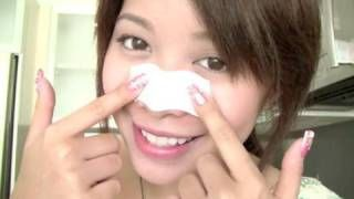 My Sister and I both use this trick.  Homemade Pore strips! No Glue!!!!
