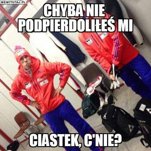 Będę tutaj dodawać memy o skokach narciarskich XD Zapraszam! #losowo # Losowo # amreading # books # wattpad