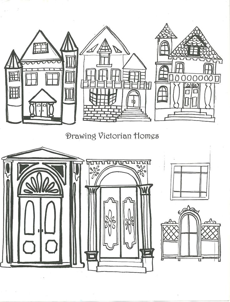 School project victorian house
