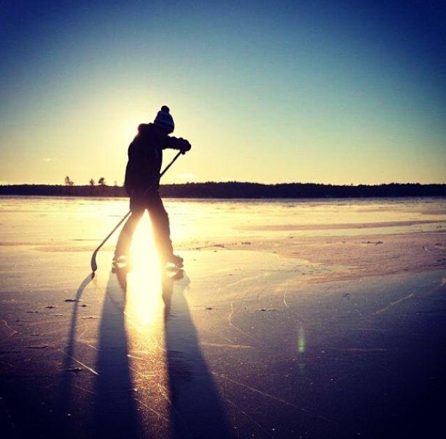 32 Best Pond Hockey Painting Images On Pinterest Ice