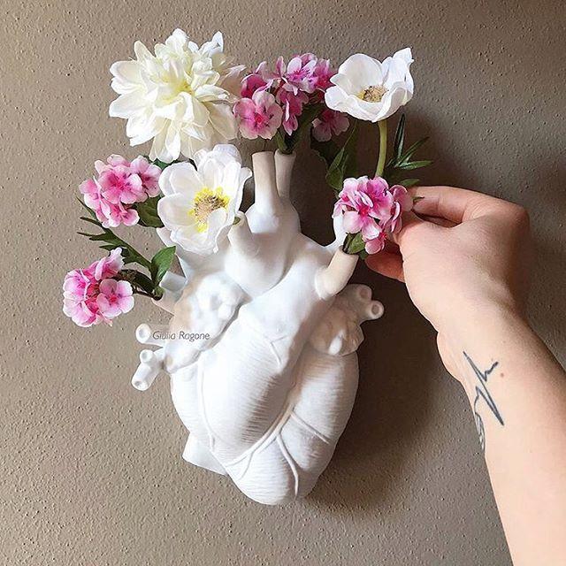 Blumen-Herz Trautes Heim