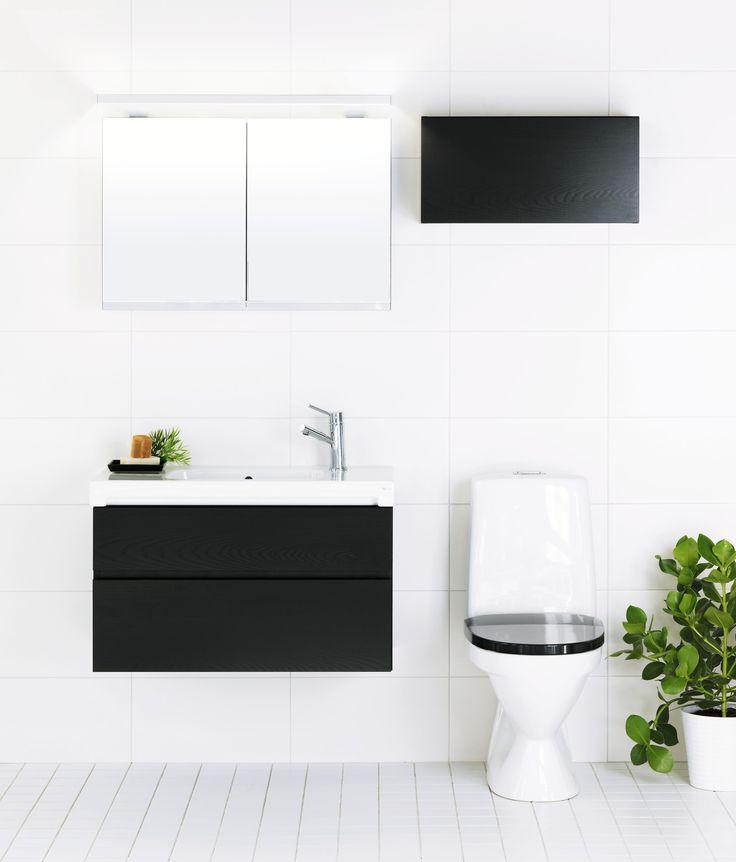 IDO Seven D -kalusteet kylpyhuoneessa