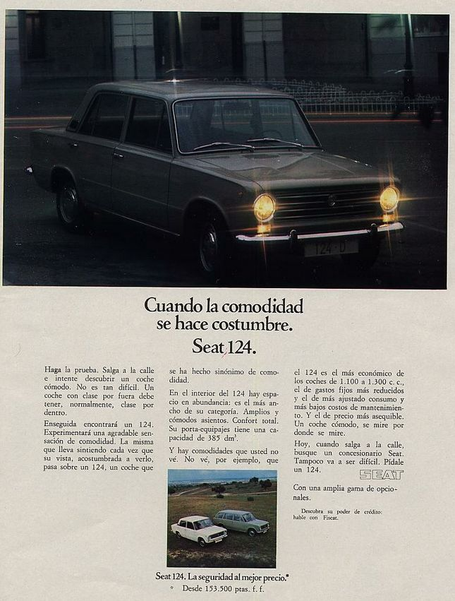 Seat 124. Año 1975