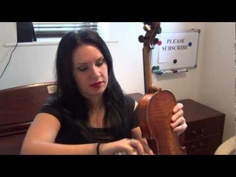 How to Clean your Violin & Rosin the Bow Properly TUTORIAL
