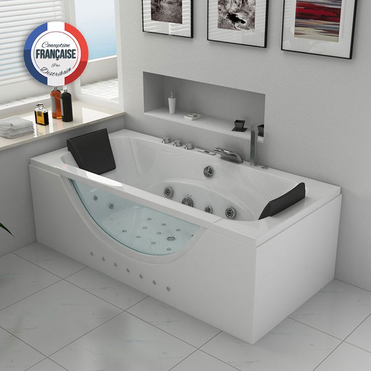 baignoire balneo rectangulaire kilauea whirlpool 26 jets. Black Bedroom Furniture Sets. Home Design Ideas