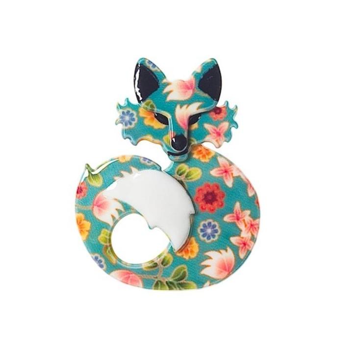 She's so Foxy Brooch - an  Erstwilder design