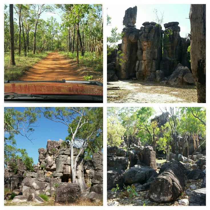 the Lost City Litchfield National Park Northern Territory Australia 4wd track to get there.