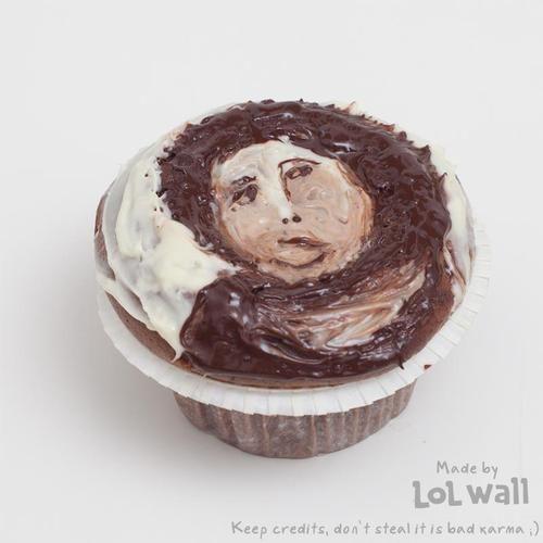 Ecce Homo Cupcake