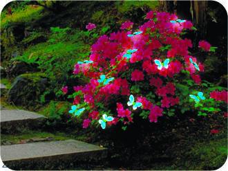 "Садовая гирлянда ""Бабочки"" Размер: длина - 10,5 м"
