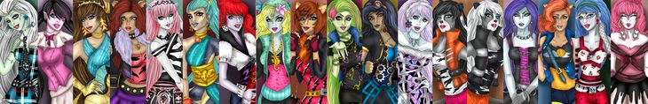 MONSTER HIGH. by kotalee.deviantart.com on @deviantART