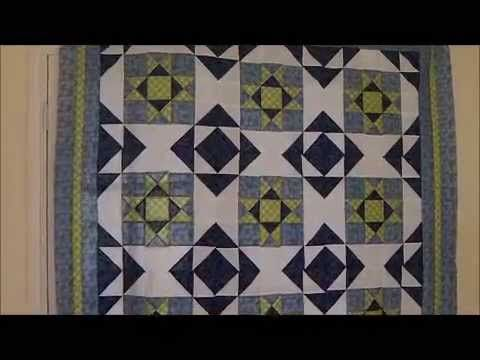 How to Make a Quilt - Square and a Half Quilt Pattern
